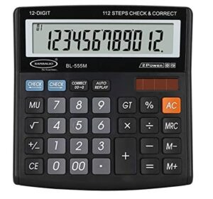 Bambalio 12 digits BL-555M Electronic Calculator