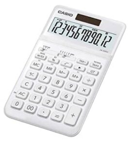 Casio JW-200SC-WE Premium & Stylish Calculator