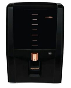 Aquaguard Aura 7L RO+UV e-boiling + MTDS water purifier with Active Copper & Mineral Guard Technology