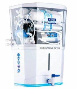 KENT Supreme Plus 2020 (11112),8 L Tank, White, 20 LPH Water Purifier